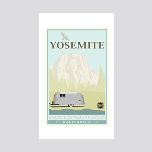 National Parks - Yosemite Sticker (Rectangle)