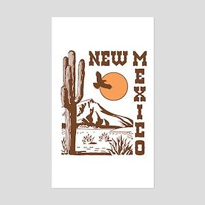 New Mexico Rectangle Sticker