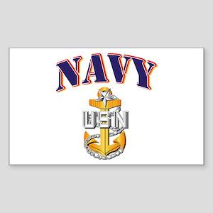 Navy - NAVY - SCPO Sticker (Rectangle)