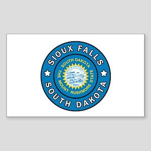 Sioux Falls South Dakota Sticker