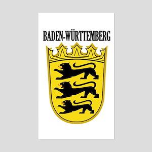 Baden-Wurttemberg COA Sticker (Rectangle)