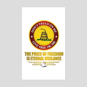 (DTOM) The Price of Freedom Sticker
