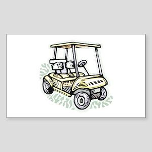 Golf34 Rectangle Sticker