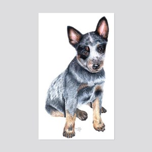 Australian Cattle Dog Rectangle Sticker