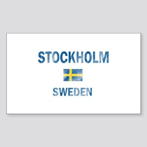 Stockholm Sweden Designs Sticker (Rectangle)