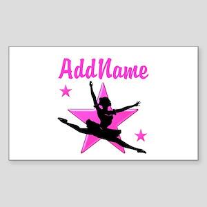 DANCE SUPER STAR Sticker (Rectangle)
