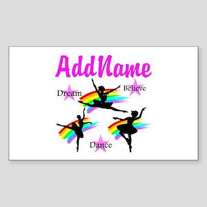 DANCER DREAMS Sticker (Rectangle)