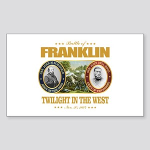 Battle of Franklin (FH2) Sticker (Rectangle)