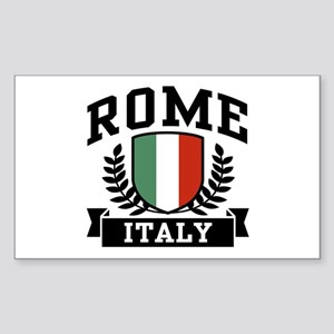 Rome Italy Sticker (Rectangle)