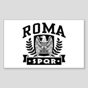 Roma SPQR Rectangle Sticker