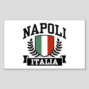 Napoli Italia Sticker (Rectangle)