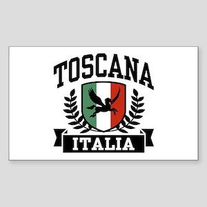 Toscana Italia Sticker (Rectangle)