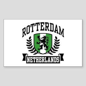 Rotterdam Netherlands Sticker (Rectangle)