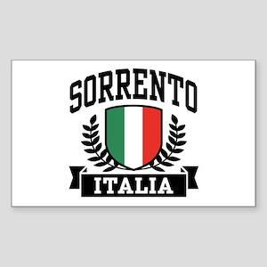 Sorrento Italia Sticker (Rectangle)