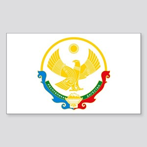 Dagestan Coat of Arms Rectangle Sticker