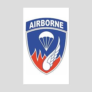 187th Infantry Regiment Rectangle Sticker