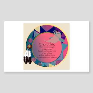 New Spirit Rectangle Sticker