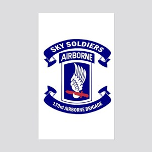 Offical 173rd Brigade Logo Sticker (rectangle)