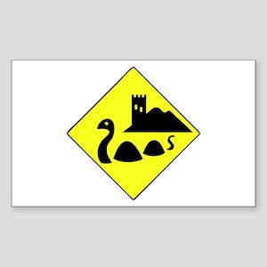 Nessie Sticker (Rectangle)