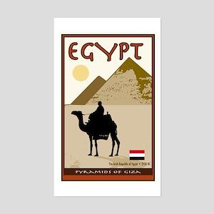 Egypt Rectangle Sticker