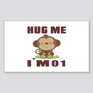 Hug Me I Am 01 Sticker (Rectangle)