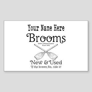 New & used Brooms Sticker