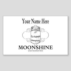 Homemade Moonshine Sticker