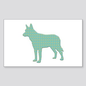 Paisley Shepherd Rectangle Sticker