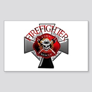 Firefighter Rectangle Sticker