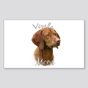 Vizsla Mom2 Rectangle Sticker
