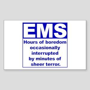 EMS - Boredom... Rectangle Sticker