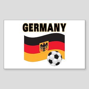 Germany Rectangle Sticker