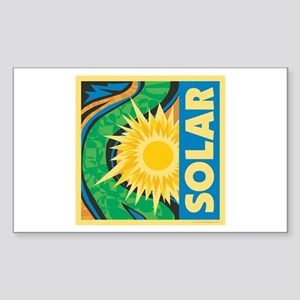 Solar Energy Sticker (Rectangle)