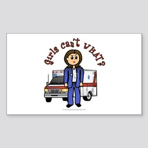 Light EMT-Paramedic Rectangle Sticker