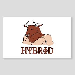 Hybrid Rectangle Sticker