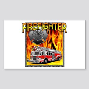 LADDER TRUCK Rectangle Sticker