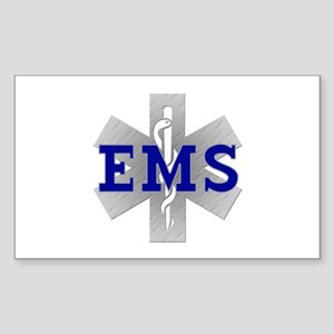 EMS Star of Life Rectangle Sticker