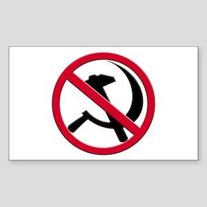 Anti-Communism Rectangle Sticker