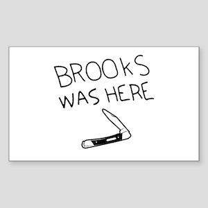 Shawshank Redemption Rectangle Sticker