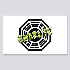 Charlie Dharma Logo from LOST Rectangle Sticker