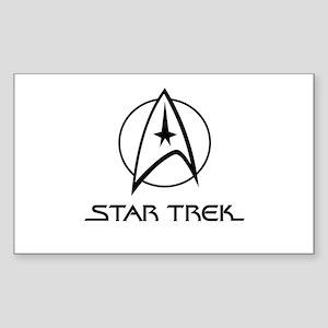 Star Trek Classic Sticker (Rectangle)