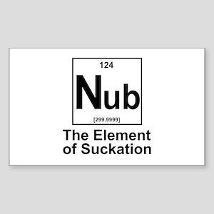 Element Nub Sticker (Rectangle)