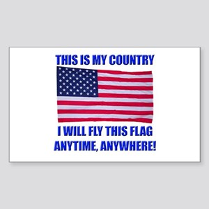 Flag2a Sticker (Rectangle)