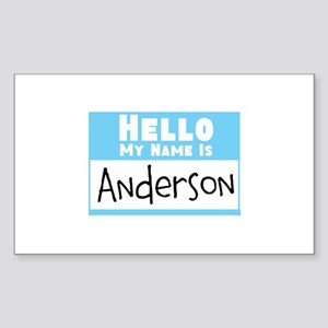 Personalized Name Tag Sticker (Rectangle)