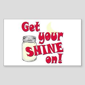 Get your Shine on Sticker