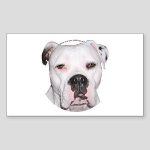 American Bulldog copy Sticker (Rectangle)
