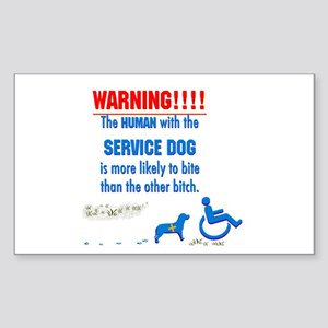 We may be disabled people, but we CAN bite! Sticke