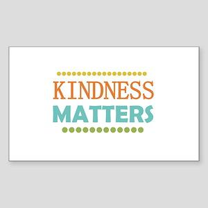 Kindness Matters Sticker (Rectangle)