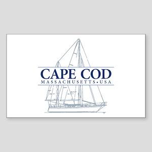 Cape Cod - Sticker (Rectangle)
