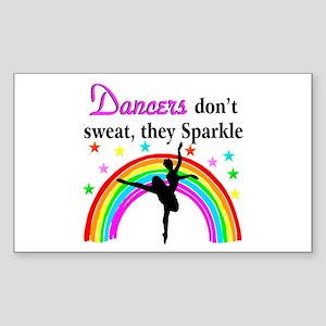 SPARKLING DANCER Sticker (Rectangle)